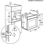 Духовой шкаф ELECTROLUX EOB 93434 AX Фото 1