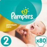 Подгузник Pampers Premium Care Mini Размер 2 (3-6 кг),  80 шт Фото