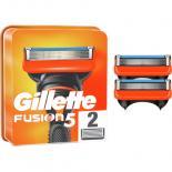 Сменные кассеты Gillette Fusion 2 шт Фото