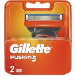 Сменные кассеты Gillette Fusion 2 шт Фото 1