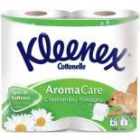 Туалетная бумага Kleenex Ромашка 3-слойная 4 шт Фото