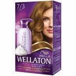 Краска-мусс для волос Wellaton стойкая 7/3 Лесной орех Фото