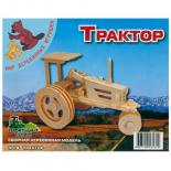 Сборная модель Мир деревянных игрушек Трактор Фото