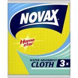 Салфетки для уборки Novax влагопоглощающие 3 шт Фото