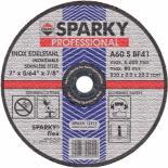 Диск SPARKY отрезной 230x2.0x22.2 абразивный A 60 S по нерж.ст Фото