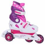 Роликовые коньки Tempish UFO Baby skate розовые 26-29 Фото 1