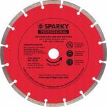 Диск SPARKY алмазный 115х18x22,23мм. Фото