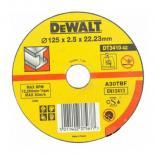 Диск DeWALT 125х2.5х22.2мм., отрезной по металлу Фото