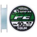 Шнур Sunline New Super PE 150м (голуб.) #1.0/0.165мм 10LB/5кг Фото