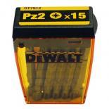 Набор бит DeWALT Pz2, 50мм, 15шт. Фото 1