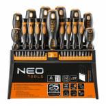 Набор инструментов NEO отверток и насадок 37 шт. Фото