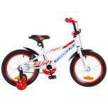 """Детский велосипед Formula 16"""" FURY 14G рама-8,5"""" St бело-синий с оранжевым Фото"""
