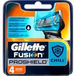 Сменные кассеты Gillette Fusion ProShield Chill 4 шт Фото