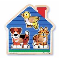 Розвиваюча іграшка Melissa&Doug Домашние животные Фото