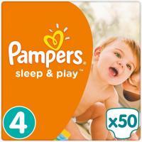 Подгузник Pampers Sleep & Play Maxi Размер 4 (8-14 кг), 50 шт Фото