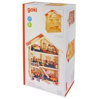 Игровой набор Goki Кукольный домик 3 этажа Фото