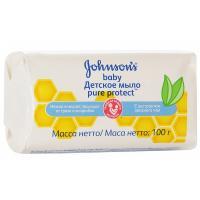 Мыло Johnson's Baby Pure Protect 100 г Фото