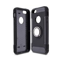 Чехол для моб. телефона Laudtec для iPhone 5/SE Ring stand (black) Фото