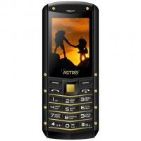 Мобильный телефон Astro B220 Black-Gold Фото