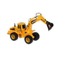 Спецтехника Same Toy Mod-Builder Трактор с ковшом Фото
