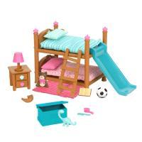 Ігровий набір Li'l Woodzeez Двухъярусная кровать для детской комнаты Фото