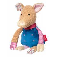 М'яка іграшка Sigikid Patchwork Sweety Свинка 31 см Фото
