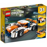 Конструктор LEGO Creator Оранжевый гоночный автомобиль 221 деталь Фото