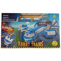 Ігровий набір Silverlit Robot Trains Станция Кея Фото