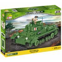 Конструктор Cobi Пехотний танк Валентайн 406 деталей Фото