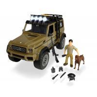 Игровой набор Dickie Toys Плейлайф. Охотник с внедорожником со н. и св. эффе Фото