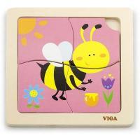 Пазл Viga Toys Пчелка Фото