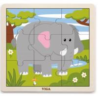 Пазл Viga Toys Слон Фото