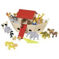 Игровой набор Goki Ноев ковчег Фото