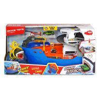 Ігровий набір Dickie Toys Катер со шлюпкой Охота на акул Фото