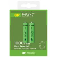 Аккумулятор Gp AAA 100AAAHCE-2GBE2 Recyko+ 1000 mAh * 2 Фото