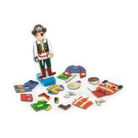 Игровой набор Viga Toys Гардероб мальчика на магнитах Фото