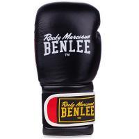 Боксерские перчатки Benlee Sugar Deluxe 12oz Black/Red Фото