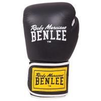 Боксерские перчатки Benlee Tough 12oz Black Фото