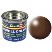 Аксесуари до збірних моделей Revell Краска эмалевая 381. Коричневая шелково-матовая, Фото