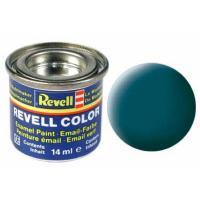 Аксессуары для сборных моделей Revell Краска эмалевая 48. Зеленое море матовая, 14 мл Фото