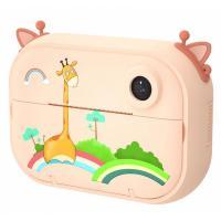 Интерактивная игрушка XoKo Цифровой детский фотоаппарат-принтер Оранжевый Жир Фото