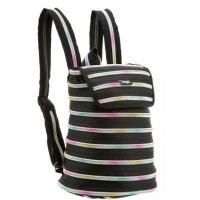 Рюкзак шкільний Zipit Zipper Black Rainbow Teeth Фото