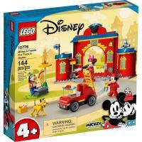 Конструктор LEGO Mickey and Friends Пожарная часть и машина Микки и Фото