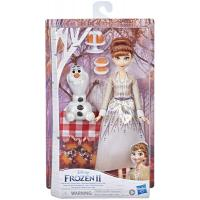 Кукла Hasbro Disney Frozen Холодное сердце 2 Анна и Олаф весенн Фото