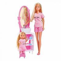 Кукла Simba Штеффи и Эви Спокойной ночи с аксессуарами Фото
