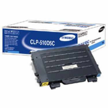 Картридж CLP-510, cyan, 5000стр. Samsung (CLP-510D5C) - фото 1