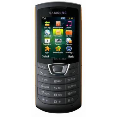 Мобільний телефон GT-C3200 (Monte Bar) Black Orange Samsung (GT-C3200KOA) - фото 1