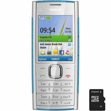 Мобильный телефон X2-00 Blue Nokia (002S762) - фото 1
