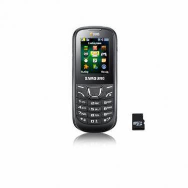 Мобільний телефон GT-E1225 Black Samsung (GT-E1225ZKTSEK) - фото 1