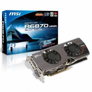 Видеокарта Radeon HD 6870 1024Mb Hawk MSI (R6870 Hawk) - фото 1